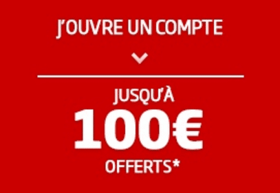 pmu 100 EUROS OFFERTS